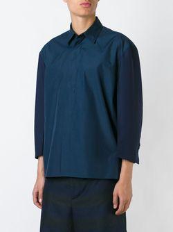 Рубашка-Блейзер Marni                                                                                                              синий цвет