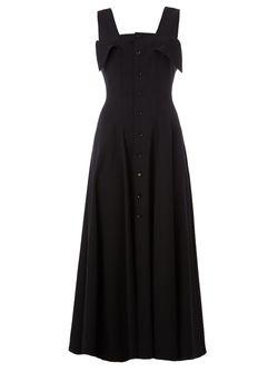 Платье Миди Yohji Yamamoto                                                                                                              черный цвет