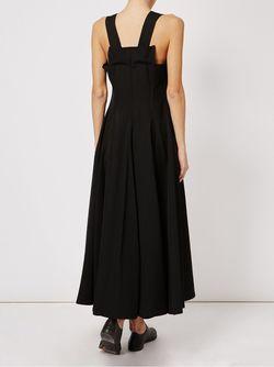 Платье Миди Yohji Yamamoto                                                                                                              чёрный цвет