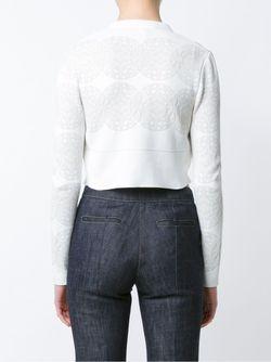 Укороченный Кардиган Derek Lam                                                                                                              белый цвет