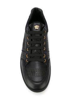 Medusa Sneakers Versace                                                                                                              чёрный цвет