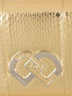 Клатч Dd Dsquared2                                                                                                              серебристый цвет