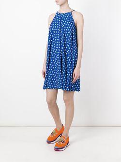 Платье С Принтом P.A.R.O.S.H.                                                                                                              синий цвет