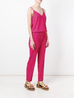 Geometric Print Jumpsuit P.A.R.O.S.H.                                                                                                              розовый цвет