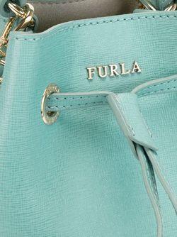Маленькая Сумка-Мешок Furla                                                                                                              синий цвет