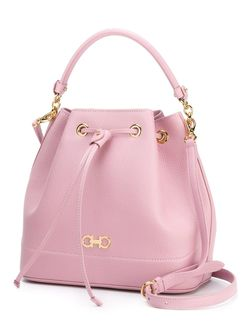 Millie Bucket Crossbody Bag Salvatore Ferragamo                                                                                                              розовый цвет