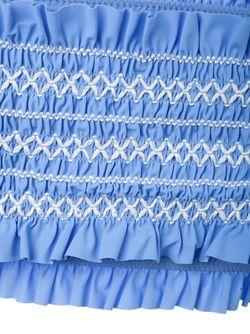Bandeau Bikini Top Tory Burch                                                                                                              синий цвет