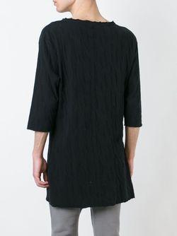 Textured T-Shirt THOM KROM                                                                                                              чёрный цвет