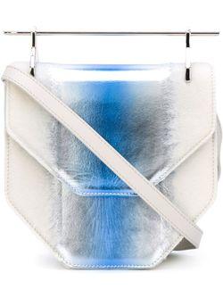 Сумка-Тоут В Стиле Колор-Блок M2Malletier                                                                                                              синий цвет