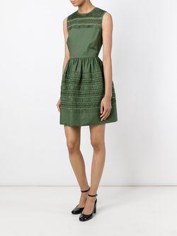 Платье С Вышивкой Red Valentino                                                                                                              зелёный цвет