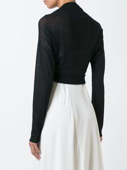 Fine Knit Bolero Aviù                                                                                                              черный цвет
