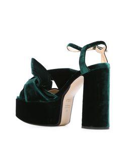 Platform Sandals No21                                                                                                              зелёный цвет
