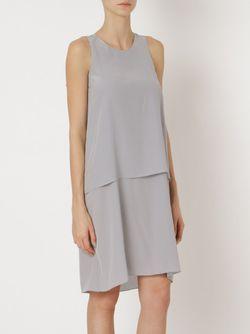 Платье Virgula Uma | Raquel Davidowicz                                                                                                              серый цвет
