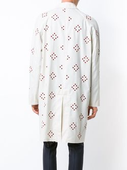 Eyelet Canvas Coat Raf Simons                                                                                                              белый цвет