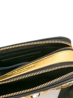 Small Snapshot Sequins Checker Crossbody Bag Marc Jacobs                                                                                                              черный цвет