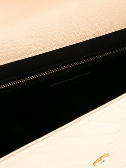 Large Monogram Shoulder Bag Saint Laurent                                                                                                              Nude & Neutrals цвет
