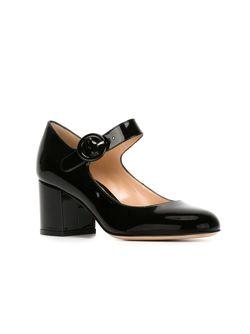 Туфли Мэри Джэйн Gianvito Rossi                                                                                                              черный цвет