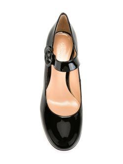 Туфли Мэри Джэйн Gianvito Rossi                                                                                                              чёрный цвет