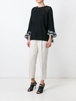 Flared Oversize Jumper 3.1 Phillip Lim                                                                                                              чёрный цвет