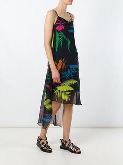 Tropical Print Dress Diesel                                                                                                              чёрный цвет