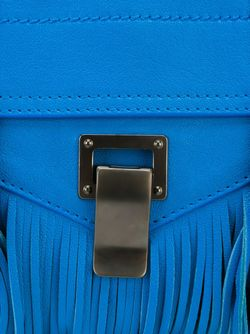 Сумка-Сэтчел Ps1 Proenza Schouler                                                                                                              синий цвет