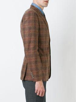 Patch Pocket Blazer Eleventy                                                                                                              коричневый цвет