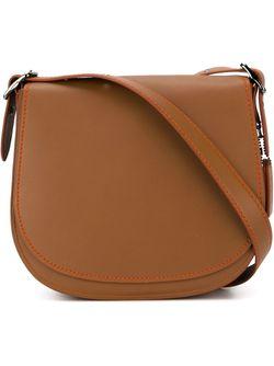 Saddle Bag COACH                                                                                                              коричневый цвет