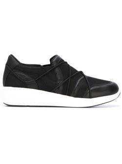 Кроссовки С Панельным Дизайном DKNY                                                                                                              черный цвет