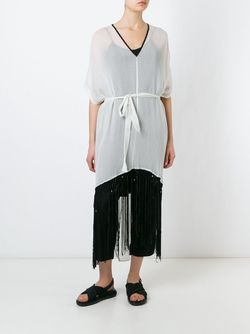 Fringed Kaftan Lost & Found Ria Dunn                                                                                                              Nude & Neutrals цвет
