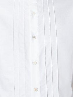 Рубашка С Воротником-Стойкой Ermanno Scervino                                                                                                              белый цвет