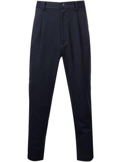 Pleated Trousers En Route                                                                                                              синий цвет