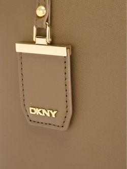 Большая Сумка-Тоут С Откидным Клапаном DKNY                                                                                                              зелёный цвет