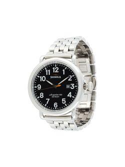 Runwell 41mm Watch SHINOLA                                                                                                              серебристый цвет