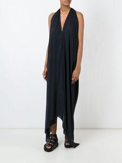 Расклешенное Платье С Вырезом-Халтер Lost & Found Ria Dunn                                                                                                              черный цвет