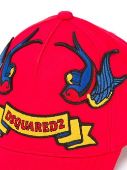 Embroidered Patch Cap Dsquared2                                                                                                              красный цвет