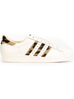 Кеды С Леопардовыми Полосками adidas Originals                                                                                                              белый цвет