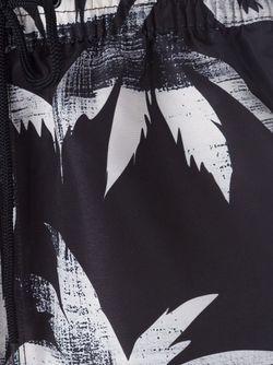 Шорты Для Плавания С Принтом Пальм Paul Smith                                                                                                              черный цвет