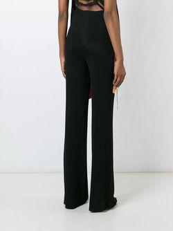 High-Waisted Trousers MSGM                                                                                                              чёрный цвет
