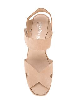 Sling Back Wedge Sandals Pedro García                                                                                                              коричневый цвет