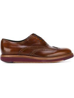 Love Oxford Shoes Salvatore Ferragamo                                                                                                              коричневый цвет