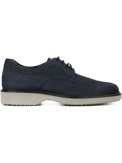 Perforated Brogues Hogan                                                                                                              синий цвет