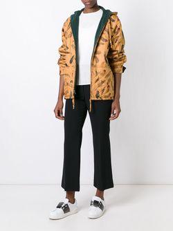 Двухсторонняя Куртка С Капюшоном Hermès Vintage                                                                                                              коричневый цвет