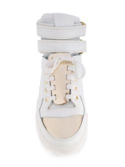 Cameron Hi-Top Sneakers Chiara Ferragni                                                                                                              белый цвет