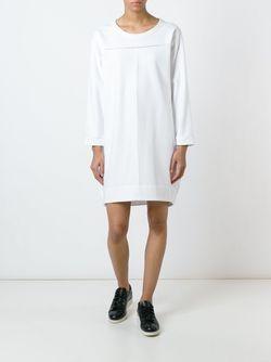 Платье С Круглым Вырезом IO IVANA OMAZIĆ                                                                                                              белый цвет