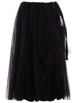 Юбка Миди Nostra Santissima                                                                                                              чёрный цвет