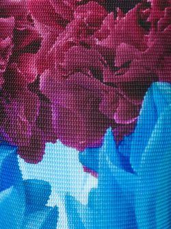 Топ С Цветочным Принтом Issey Miyake Cauliflower                                                                                                              розовый цвет