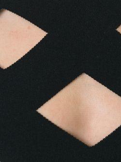 Трикотажное Боди С Вырезными Деталями Balmain                                                                                                              чёрный цвет