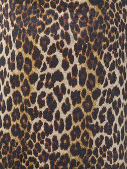 Футболка С Леопардовым Принтом Iro                                                                                                              коричневый цвет