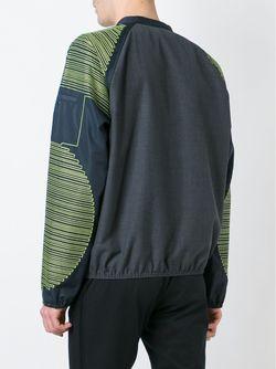 Embroidered Sleeve Jacket Issey Miyake                                                                                                              серый цвет