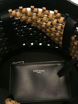 Плетеная Сумка-Мешок Sonia Rykiel                                                                                                              чёрный цвет